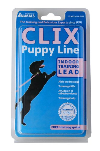 CLIX-Puppy-House-Line-Lead-Assorted-Colours