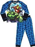 laylawson Marvel Avengers Pyjamas Garçons Ensemble de Pyjama Vêtement de Nuit 3 à 12 Ans[3-4 Ans][Bleu]