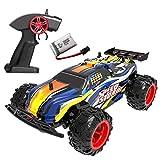 MAXXRACE Ferngesteuertes Autos Elektrisches RC spielzeugs,Remote Control Autos mit High-Speed 2.4Ghz 15-20Km/h wiederaufladbarer Batterie- Geschenke für Kinder und Erwachsene Indoor / Outdoor Spielen