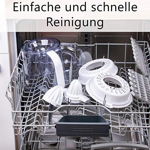 Elektrische Zitruspresse – 15 L – TZS First Austria Bild 6*