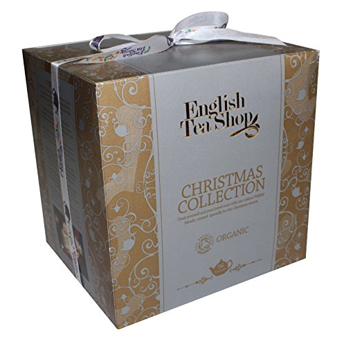 English Tea Shop - Christmas Collection - Gold Cube Box - 144g (Pack of 2)