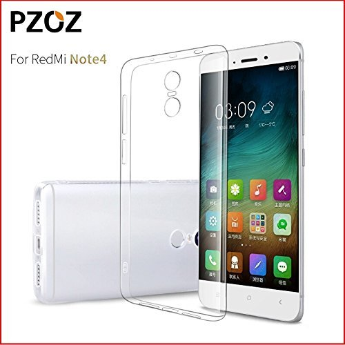 Soft Jel Ultra Thin 0.3mm Full Protection Premium Clear Tpu Case Back Cover For,Trasparent Xiaomi Mi Redmi Note 4  available at amazon for Rs.79