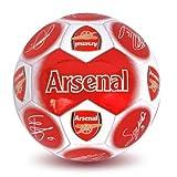Arsenal Official Signature Football - Multi-Colour