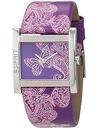 Esprit Damen-Armbanduhr Analog Quarz Leder ES2AEG2.5295.C45