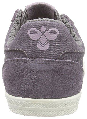 hummel SS WAXED HERRINGBONE Unisex-Erwachsene Sneakers Violett (Plum Perfect 4073)