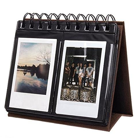 Woodmin 68 Poches Calendrier Album Photo de Fujifilm Instax Mini
