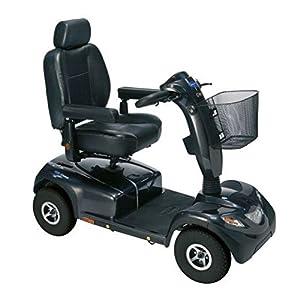 Invacare Comet Alpine 4-Rad Scooter, Elektromobil 10kmh, Anthrazit-Metallic, bis 160kg inkl. Anlieferung/Einweisung/Aufbau vor Ort