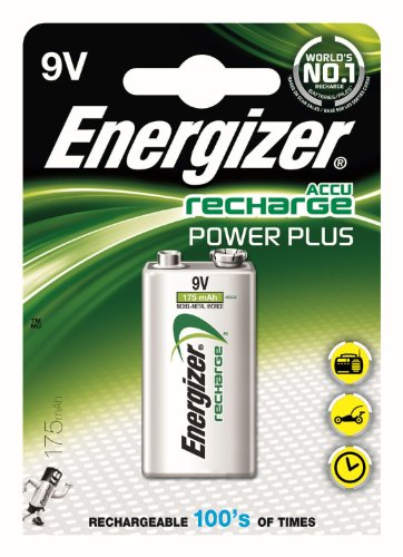 Energizer 635584 Power Plus Batteria, 9V, 175 Mah