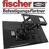 TV-Wandhalterung LED/LCD/Plasma, 42-65 Zoll, EXTREM Stabile Ausführung, Mit Fischer Zubehör,...