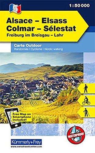 Alsace - Colmar - Sélestat 05 k&f r/v wp FMS scale: 1/50 par Kummerly & Frey AG