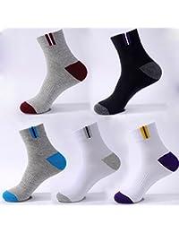 Calcetines de deportes de invierno para hombre (10 paquetes) transpirable desodorante transpiración ( Color : #1 )