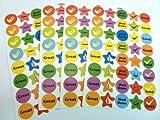 Ricompensa & Al merito Adesivi - Bambini / bambini Etichette per sacchetti per feste , collage , produttore di biglietti o taccuino decorazione