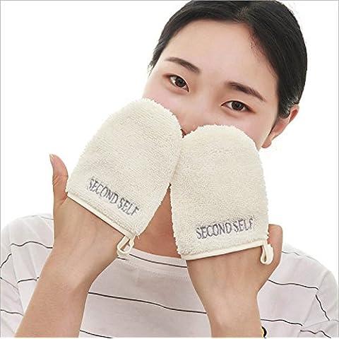 XJoel Premium Makeup Remover panno in microfibra riutilizzabili Cosmetics Makeup Remover pulizia Guanti