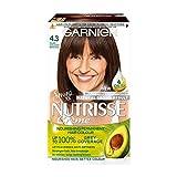 Garnier Nutrisse Creme Permanent Hair Colour 4.3 Dark Golden Brown