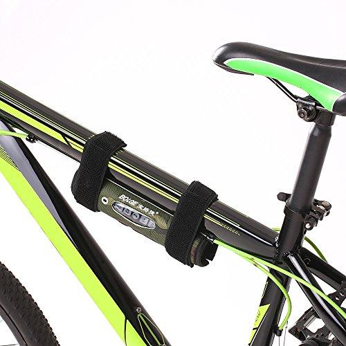 Lixada Bicicleta Recargable Altavoz Inalámbrica BT Sonido exterior Altavoz Incorporado en el...