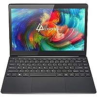 """LincPlus 13.3"""" FHD Laptop Intel Celeron 4GB+32GB Bis zu 512 GB durch SSD Fanless Deutsches Tastatur Notebook 5G WiFi Windows 10 Dünnes und Leichtes Ultrabook MEHRWEG"""