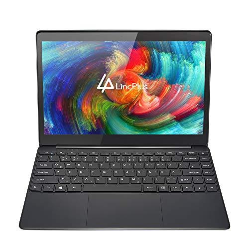 """LincPlus 13.3\"""" FHD Laptop Neueste Intel Celeron 4GB+32GB Bis zu 512 GB durch SSD Fanless Deutsches Tastatur Notebook 5G WiFi Windows 10 Dünnes und Leichtes Ultrabook"""