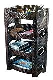 #7: La Corsa Liberty Rack | Kitchen Storage Organizer | Desk Organizer (4 Tier)