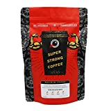 Maximum Charge 500g: Lab Certified World's Strongest Coffee - Extremely High Caffeine Coffee from Robusta Beans - Medium Roast - 500g (Beans)