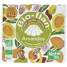 Nat-Ali Bio-Flan Amandes 7 g - Lot de 10