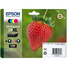 Claria Home Ink Epson 29 X-Large High Capacity Strawberry Ink Cartridge (Pack of 4)