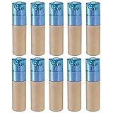 eBuyGB–Röhrchen mit Buntstiften, als Gastgeschenk für Hochzeiten oder Füllmaterial für Wundertüten verwendbar 10 Blue Lid