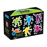 Keith Haring Glow in the Dark Puzzle: 100 Pieces