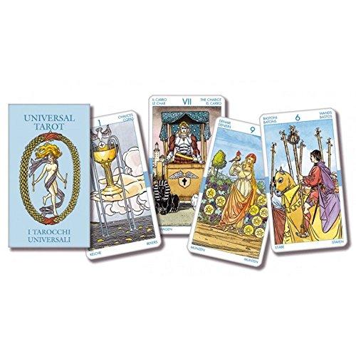Universal Tarot, Mazo de 78 Cartas Tamaño Bolsillo con Instrucciones