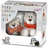 NICI - Pack de regalo Osito peluche + taza, 15 cm (39929.0)