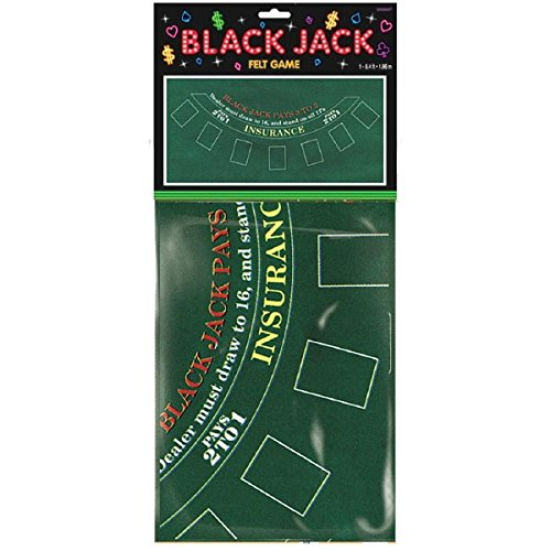 Unbekannt Casino Black Jack Party Tischdecke Themenparty Mottoparty