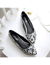 LGK&FA Llanamente Superficial Zapatos De Trabajo 40 Negro