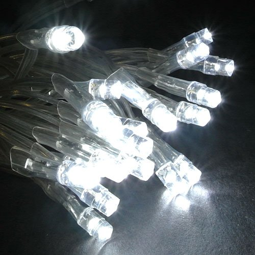 White Led String Light With Wired Remote used for Diwali , Navratri and Christmas Decorations