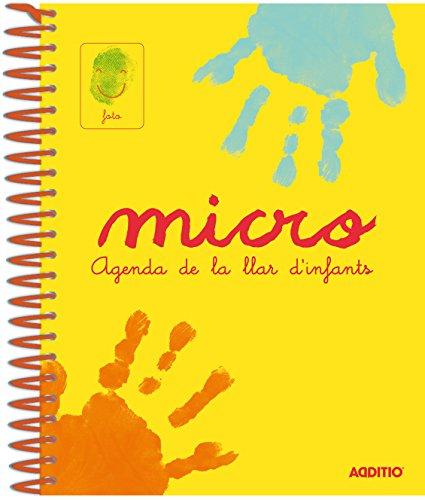 Additio A101 - Agenda Micro para escuela infantil (catalán), 0 a 3...