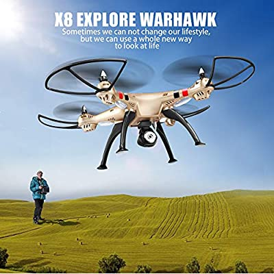 KD Drone aerial camera X8HW large-scale real-time aerial drone fighter aircraft remote control flying outdoor remotely controlled children's toys high-definition aerial shooting