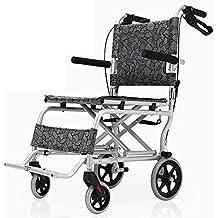 G&M Silla alta calidad Equipo Médico móvil de aleación de aluminio de la rueda de peso ligero plegable silla de ruedas autopropulsada