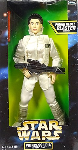 Princess Leia in Hoth Gear with Firing Blaster