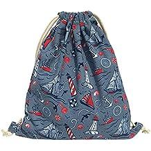 iSuperb Bolsas de Cuerdas para Viajes Gimnasio Mochila con Cordon El Deporte Unisex Drawstring Bags (