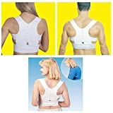 #4: ShopyBucket High Quality & Durable Magnetic Therapy Posture Support Corrector Adjustable Belt Back Pain Lumbar Belt Brace Shoulder Support Correction Belt(pack of 1 )
