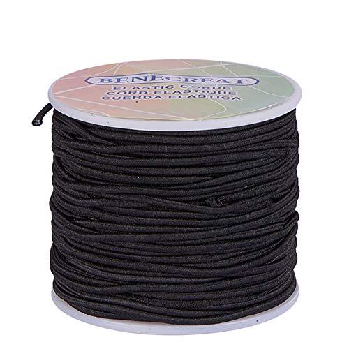 BENECREAT 2 mm 50m Cordón Elástico Hilo