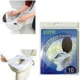 Generic Lot de 10 protections jetables pour WC