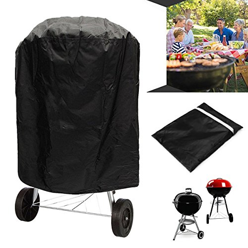 70 X 70Cm Outdoor Waterproof Round Kettle Bbq Protector Uv Resistant Grill Cover \ Products Materials Quality Trendy Utensils Cooking Dining Unique Retro Items Cookware Chopping Modern Set Popular Stuff