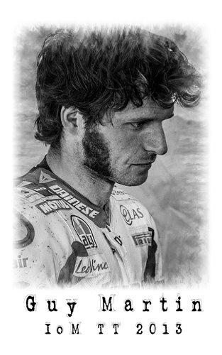 Guy Martin - IOM TT 2013 por Steve Babb