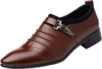 Sannysis Leder Herren Schuhe Business Schuhe Oxford Hochzeit