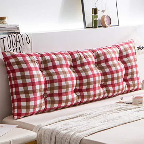 Tatami Bett Rückenkissen,sofa Große Rückenlehne Kopfteil Polster Großer Bolster Waschbare Baumwollbezug Für Tagesbett Etagenbett-e 150cm(59inch) -