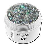 RM Beautynails Colorgel Crispgel Silber UV Farbgel 5ml in Studio Qualität