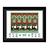 Celtic Dressing Room Photo Gift - Mounted & Framed - *Official Product*