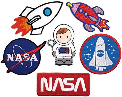 i-Patch - Patches - 0161 - Sticker - Badges - Astronaut - Stickerei - Applikation - Aufnäher - Planet - Raumschiff - Raumfahrt - Aufbügler - Flicken - zum aufbügeln - Space - Alien - Rakete - Astro