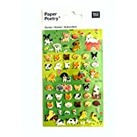 Puppy & Dog Decorative 3D Kids Stickers Self-Adhesive Labels for Children & Card Making