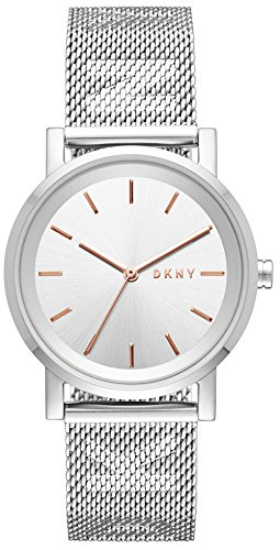 DKNY Women's Analogue Quartz Watch with Stainless Steel Strap NY2620 Best Price and Cheapest