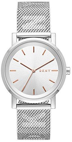 DKNY Femmes Analogique Quartz Montre avec Bracelet en Acier Inoxydable NY2620